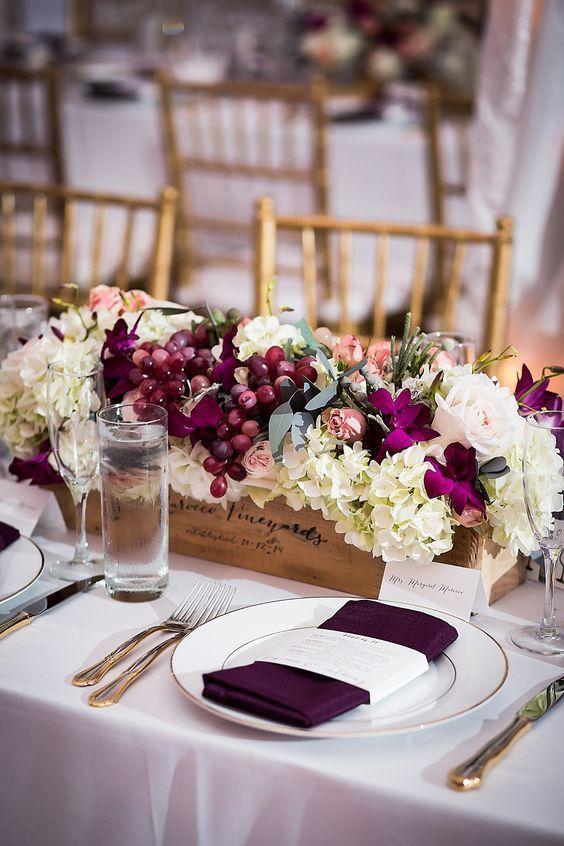 27++ Grape wine themed wedding centerpieces ideas in 2021