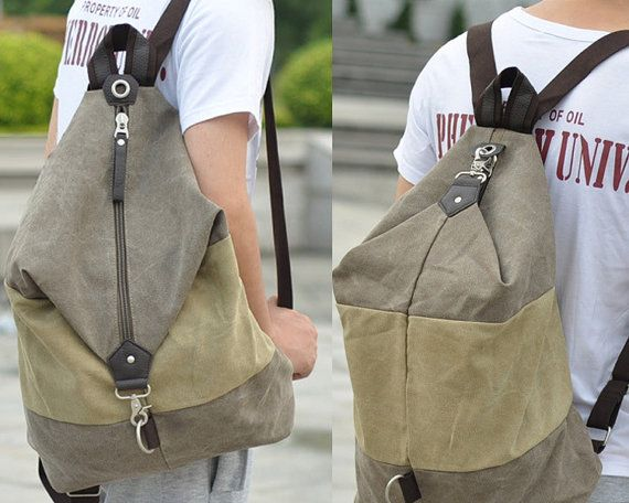 6fbb4083736f Leisure shoulder bag   Canvas Messenger Bag   by CrazyLeatherBag ...