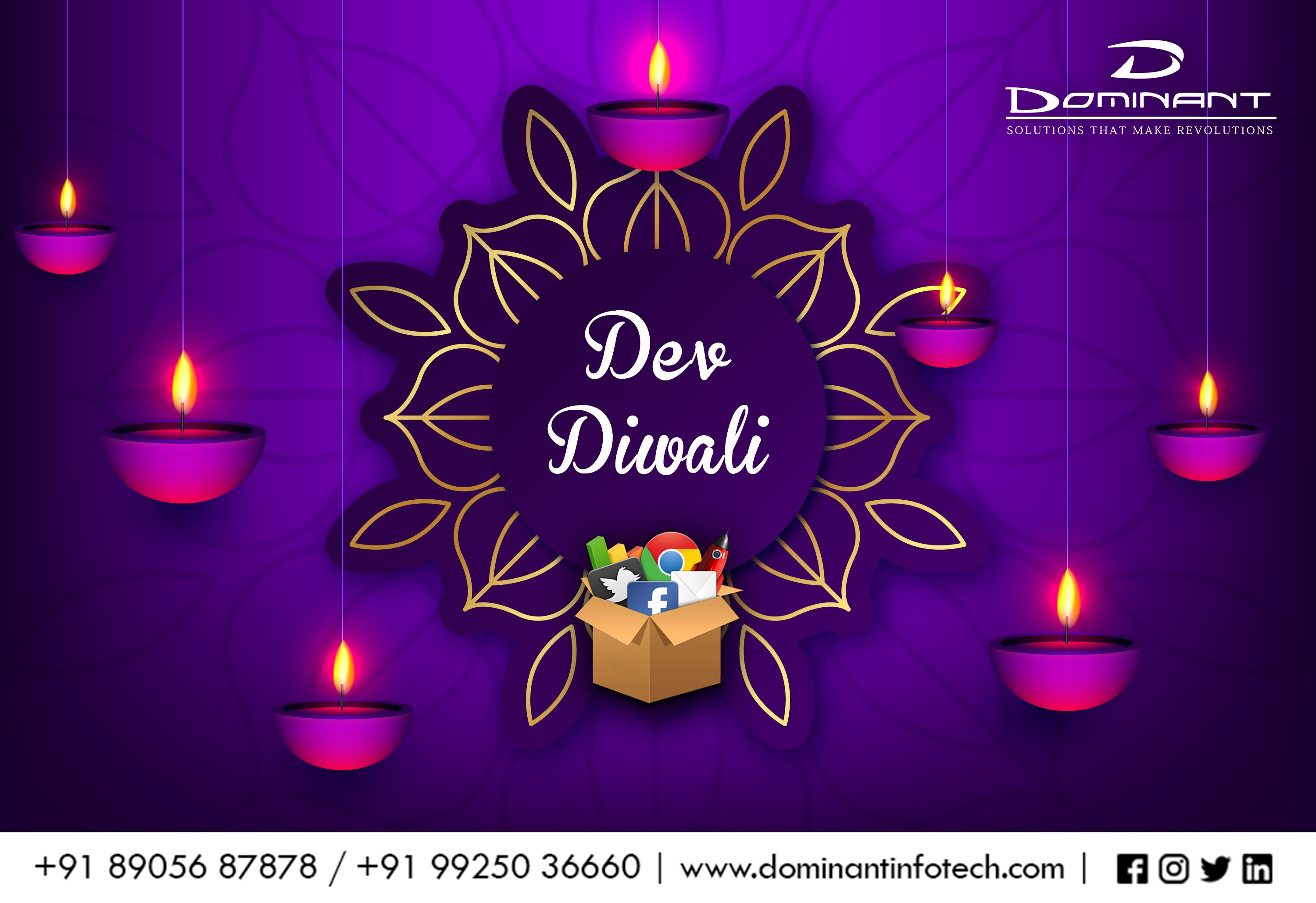 May the beauty of Dev Diwali fill your home with Happiness