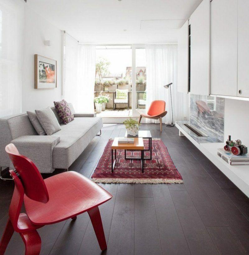 Orientteppich als Akzent im Interieur u2013 21 Beispiele moderne - wohnzimmer design beispielemodernes wohnen wohnzimmer