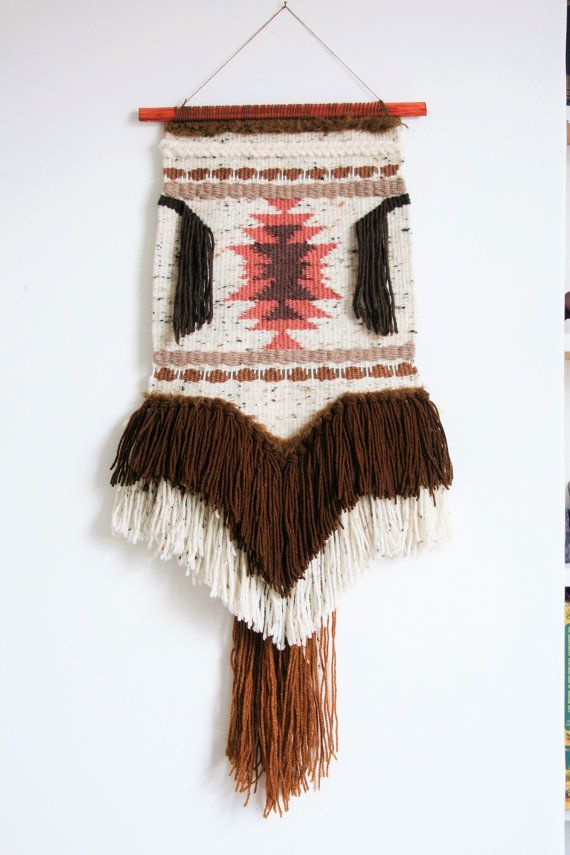 Native American Wall Hangings weaving no.2 | woven wall hanging | handwoven tapestry | textile