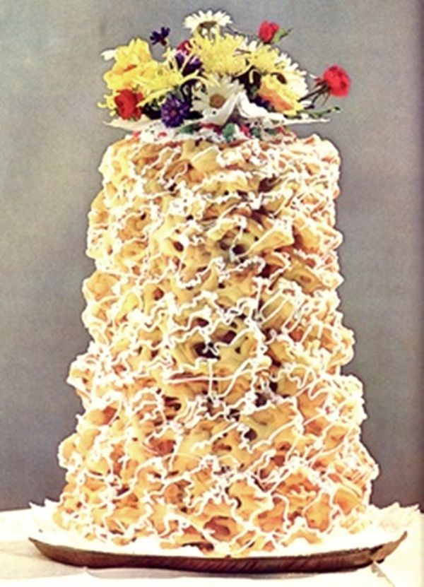 polish wedding cakes you heard of spettekaka it s a traditional 18677