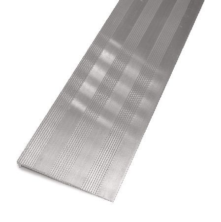 Door Furniture Direct 12.7mm High Aluminium Ramp 914x152mm 6.4mm high aluminium ramp for bridging the gap between floor levels. The ramp is manufactured in aluminium and has a grooved surface. Length measures 914mm and width of plate is 76mm. http://www.MightGet.com/january-2017-12/door-furniture-direct-12-7mm-high-aluminium-ramp-914x152mm.asp
