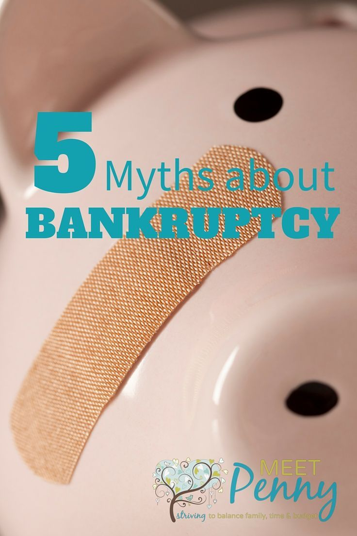 5 Myths about Bankruptcy and the Truth from Someone who