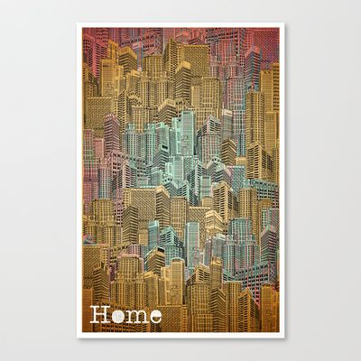 home1+Stretched+Canvas+by+Amit+Shimoni+-+$85.00