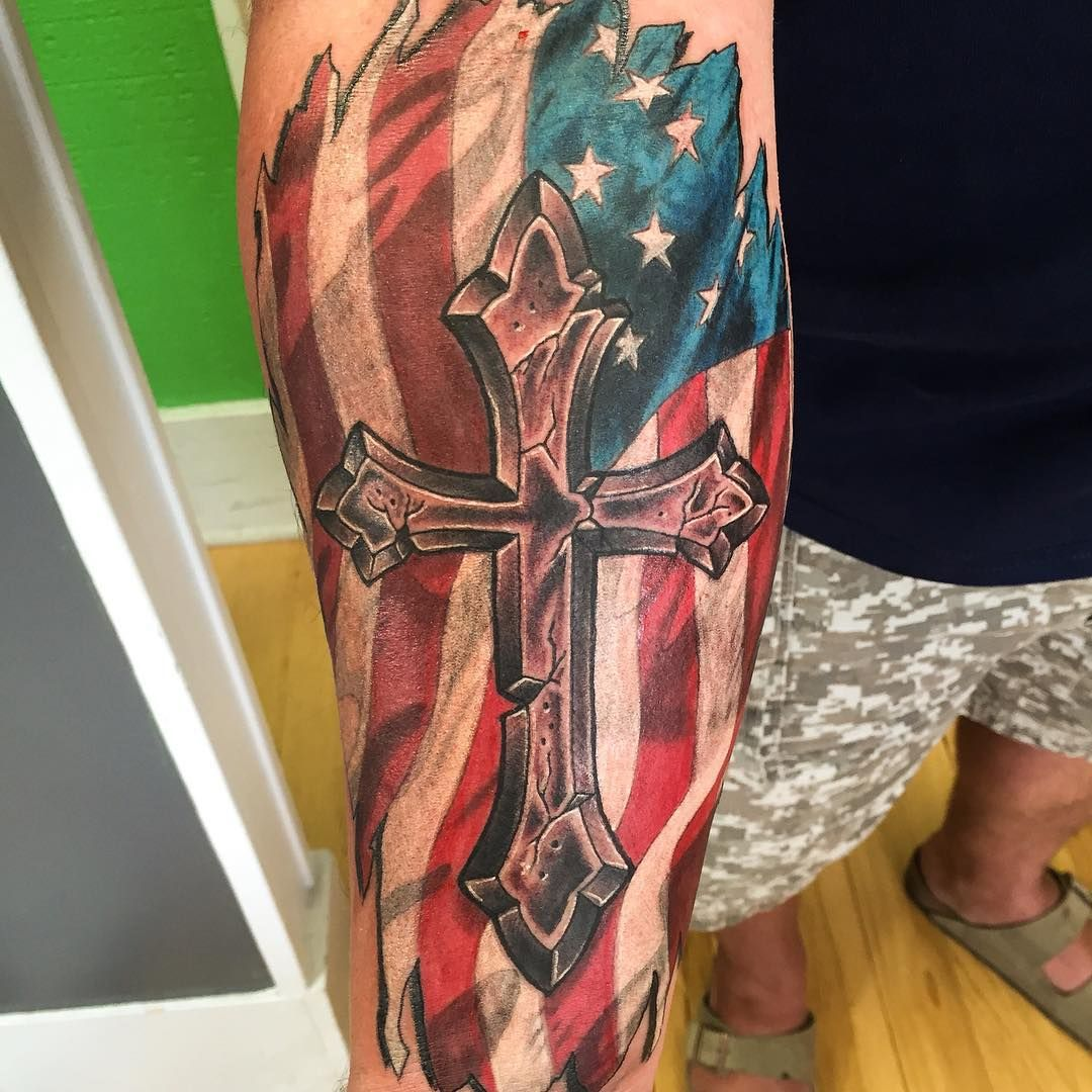 50+ Independent Patriotic American Flag Tattoo designs - I ...