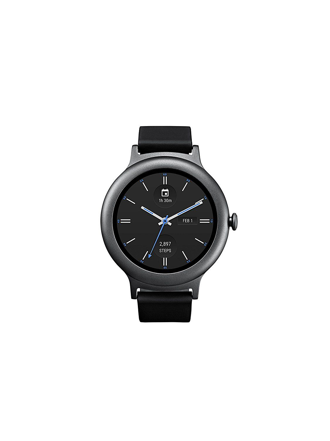 Lg Electronics Lgw270ausatn Watch Style Smartwatch With Android Huawei Smart Stainless Steel Mesh Band Us Warranty Wear Titanium Version Size Large