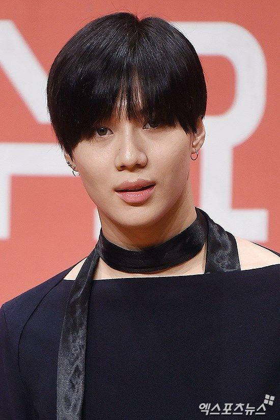 160722 Taemin @ Conferencia de prensa 'Hit the Stage'.