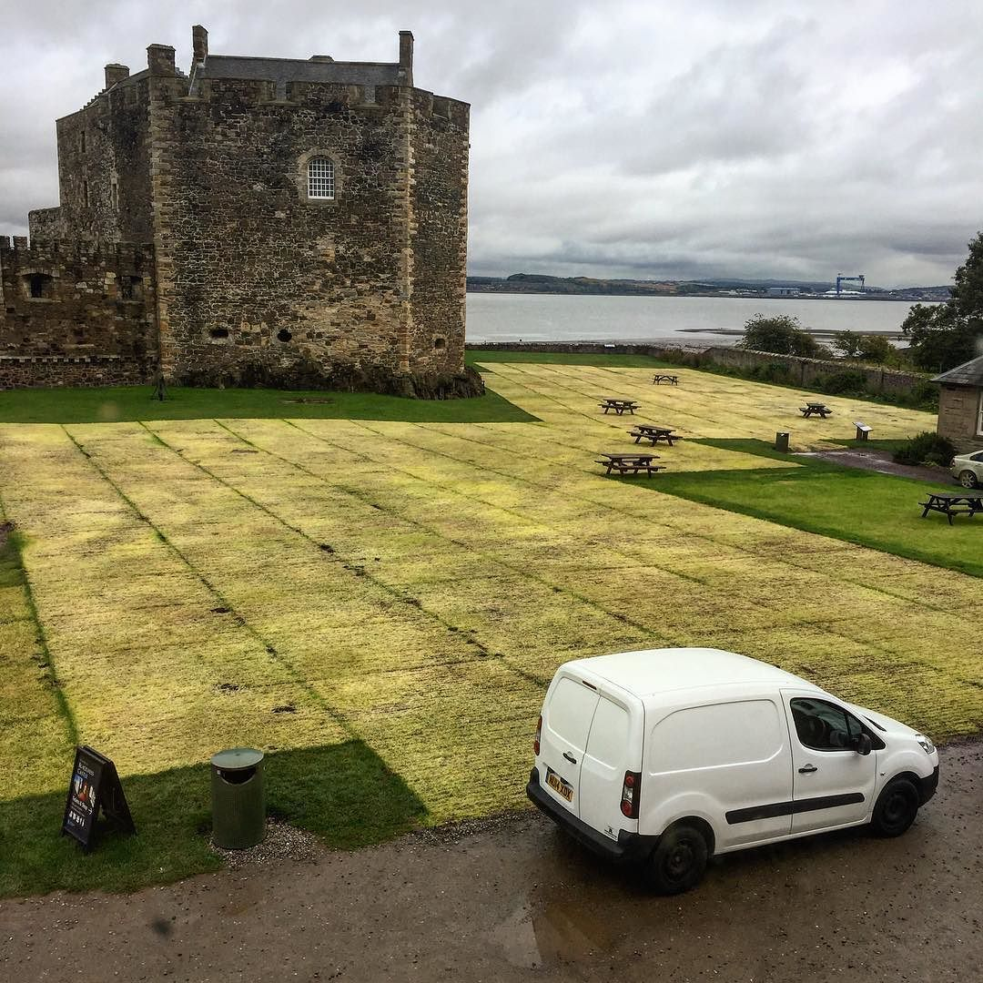 Possible art installation spotted at Blackness Castle. #blackness ...