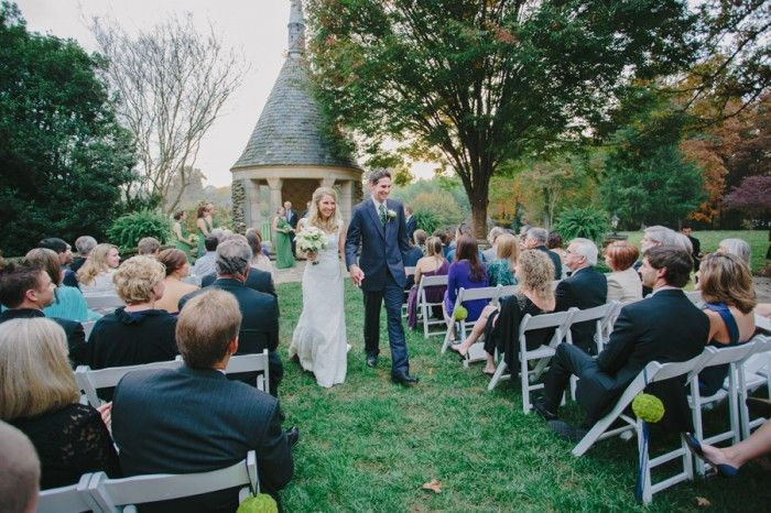 Wedding Ceremony Graylyn Estate Elegant Fall Logan Jarrard Photography Leigh Pearce Weddings Winston M North Carolina P