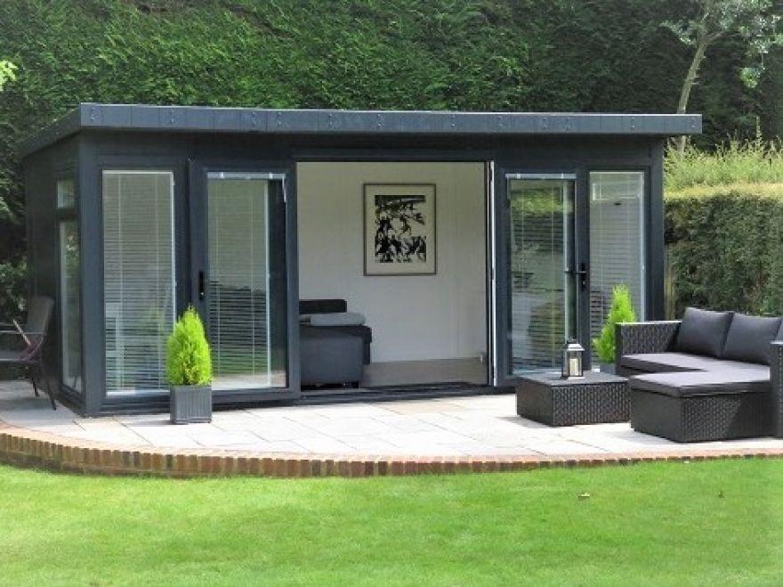 Garden Rooms Bakers Timber Buildings In 2020 Summer House Garden Contemporary Garden Rooms Outdoor Garden Rooms