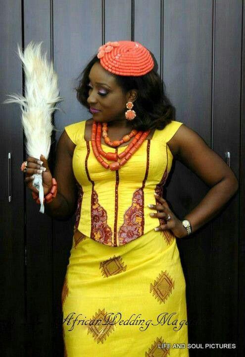 Ibo Bride #Africanfashion #AfricanClothing #Africanprints #Ethnicprints #Africangirls #africanTradition #BeautifulAfricanGirls #AfricanStyle #AfricanBeads #Gele #Kente #Ankara #Nigerianfashion #Ghanaianfashion #Kenyanfashion #Burundifashion #senegalesefashion #Swahilifashion DK