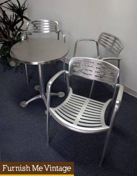3 Real Jorge Pensi Toledo Amat Chairs U0026 Table Knoll Modern
