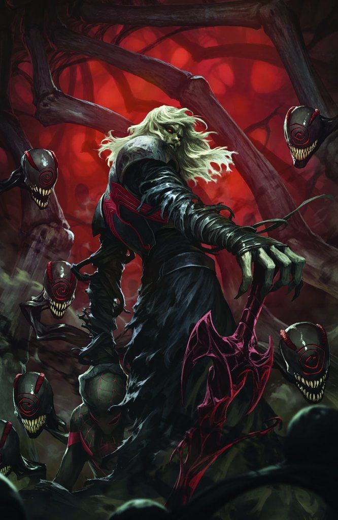 IN HAND Absolute Carnage 1 Mico Suayan Virgin Variant Trade Dress Set