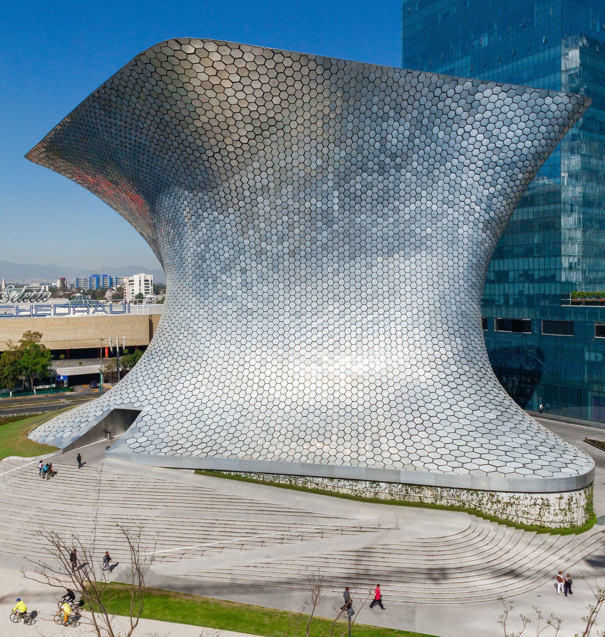 Phối cảnh bảo tàng Soumaya - Mexico