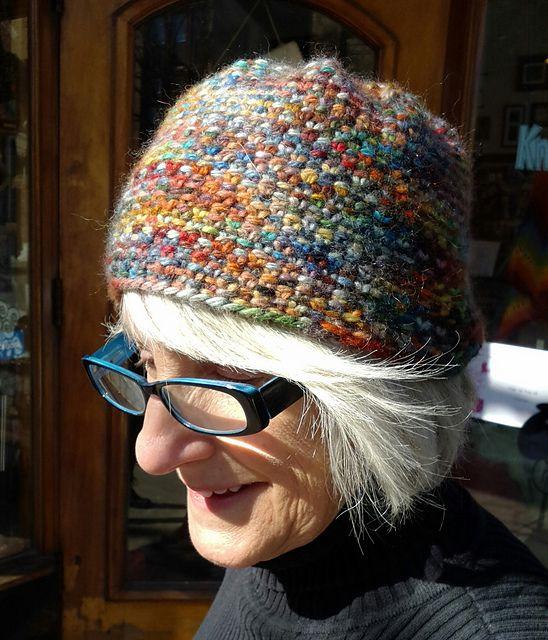 7c4e4ea5c20 Ravelry  Linen Stitch Hat pattern by Linda Daniels