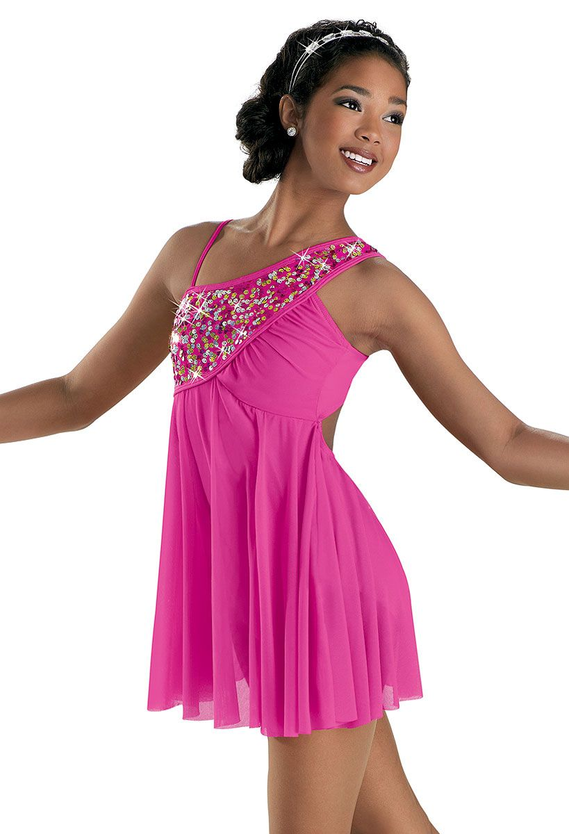 also in Eggplant Sequined Mesh Lyrical Dress; Weissman Costumes ...