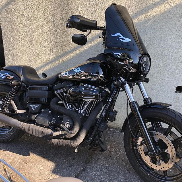 Memphis Shades Road Warrior Fairing for Harley Davidson Dyna 2006 and Later