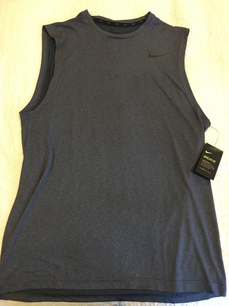 b51b341d64570e XL Men Nike Dry Breathe Hyper Muscle Dri-Fit Sleeveless Athletic Shirt NWT   fashion  clothing  shoes  accessories  mensclothing  activewear (ebay link)