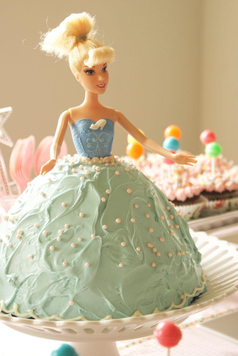 Barbie doll cake for Aubrey's 2nd bday