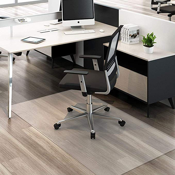 HYNAWIN Large Office Chair Mat for Hardwood