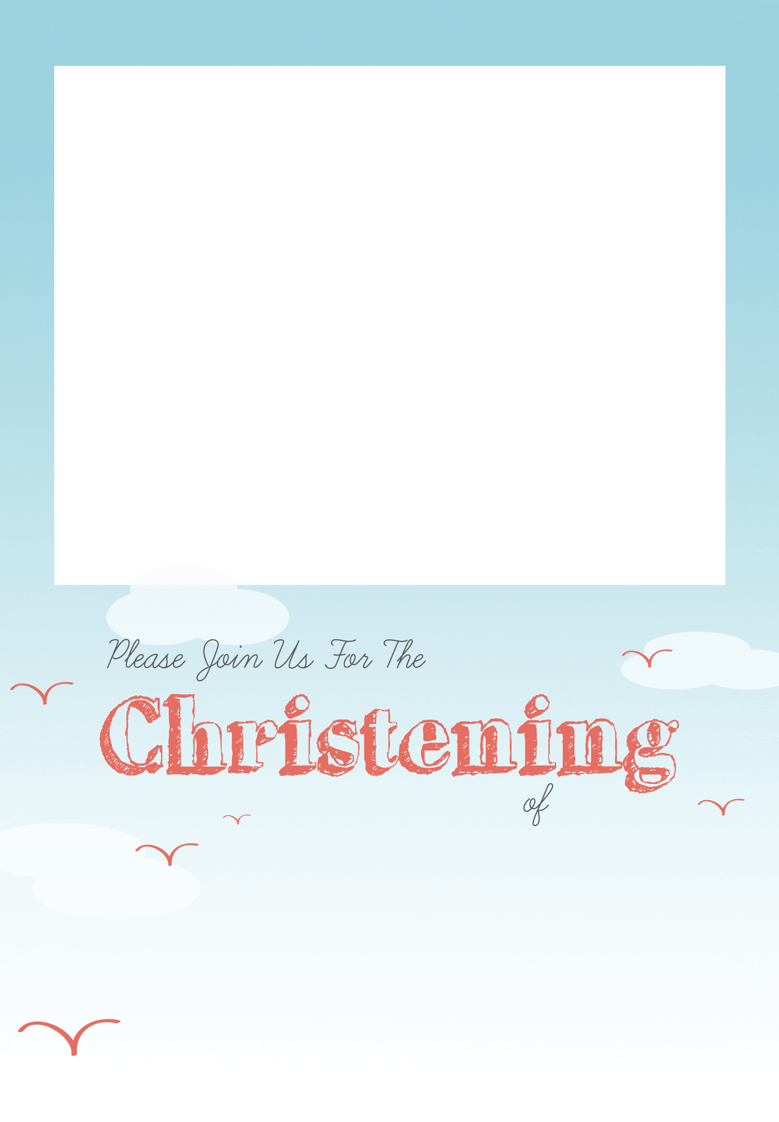 All Smiles Baptism Christening Invitation Template Free Greetings Is Invitation Layout Free Printable Invitations Templates Christening Invitations Boy