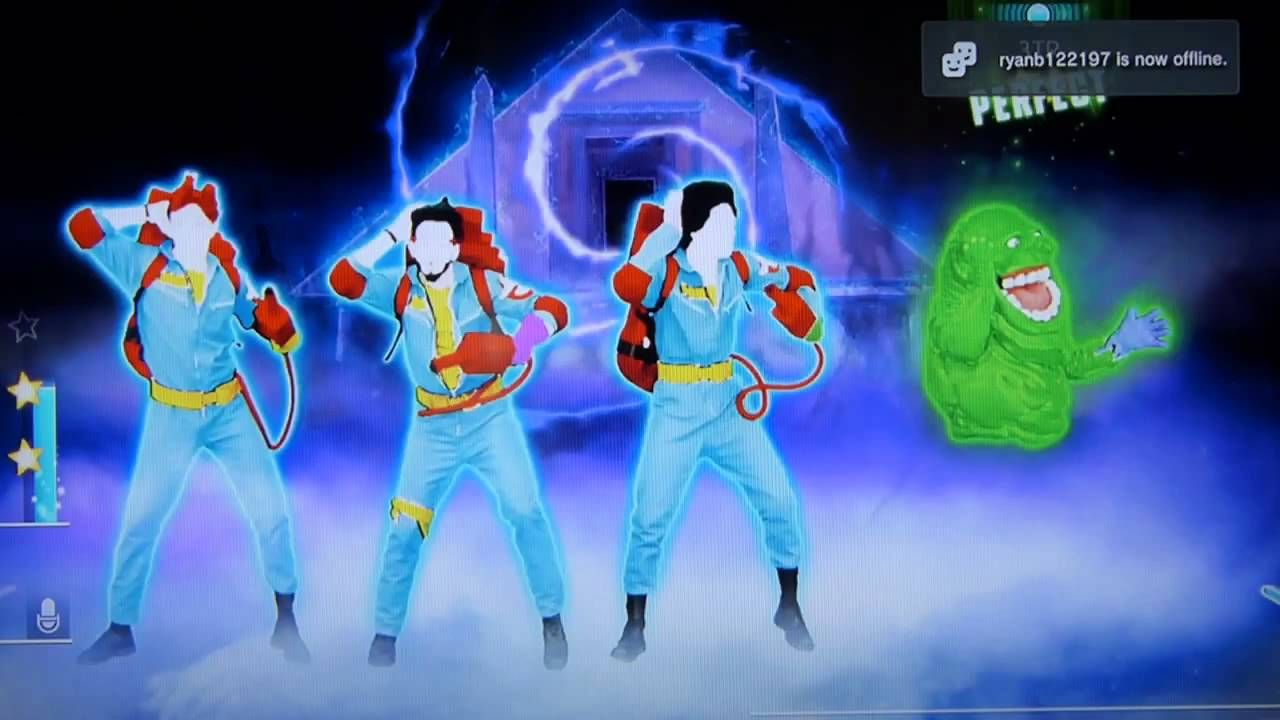 Just dance 2014 ghostbusters classic 5 stars ps3 youtube