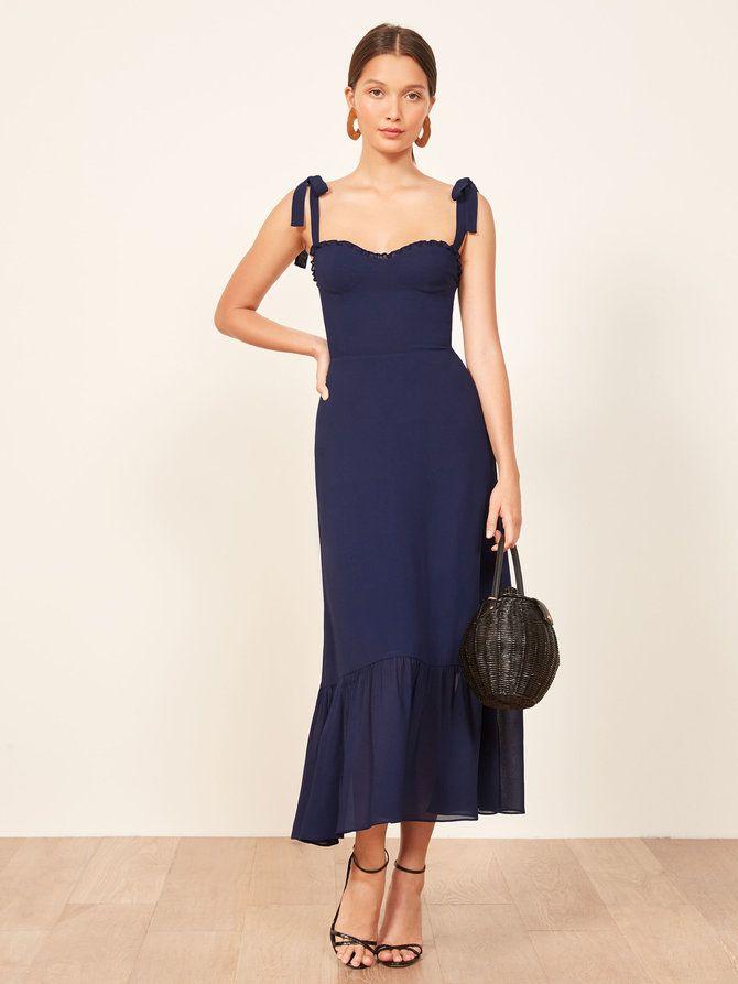 05ffbc7ad898 Reformation Nikita Dress | costura | Vestidos elegantes, Vestidos y ...
