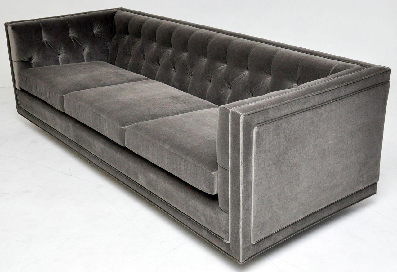 I Love This Design So Crisp And Masculine Dunbar Tuxedo Sofa