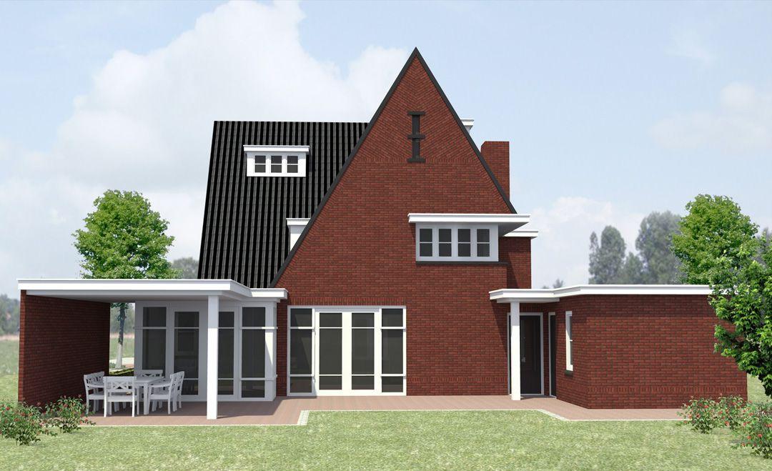 Jaren 30 huis te vlijmen van hooft architecten huizen for Architecten moderne stijl