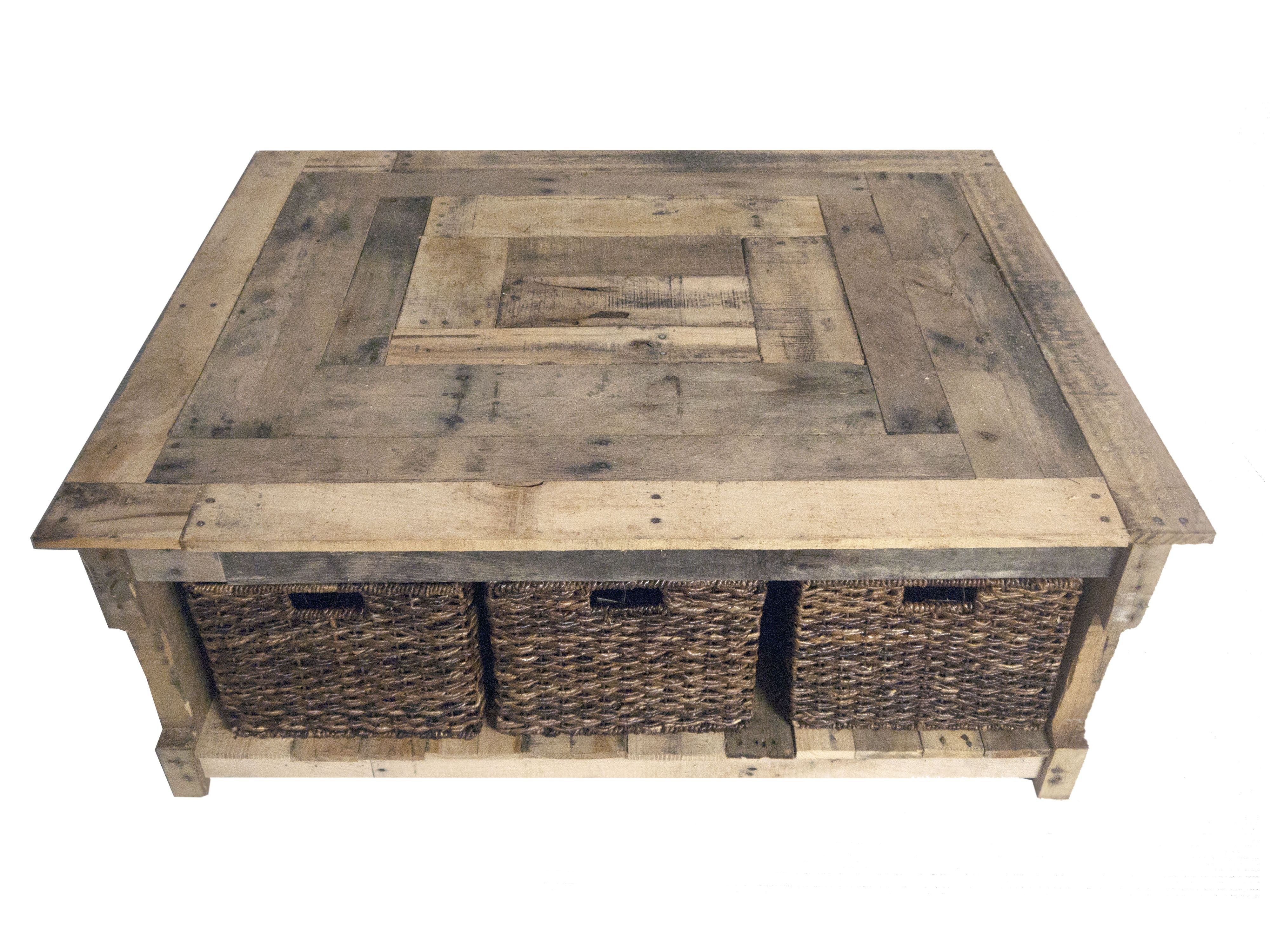 Diy Rustic Custom Pallet Coffee Table Bees Furniture Made From Recycled Pallets For Wicker