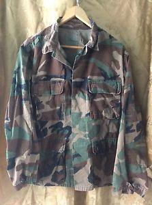 Camouflage-Jacket-Size-Medium-Short