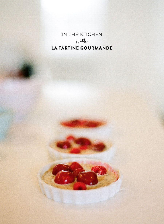 Crème amandine aux fruits rouges de l'été