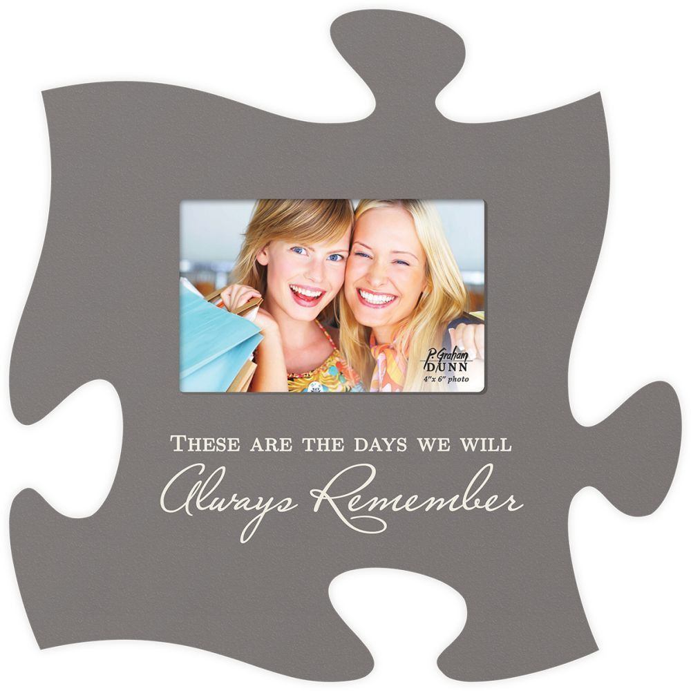 These Days Puzzle Photo Frame | Family reunions, Squares and Puzzle ...
