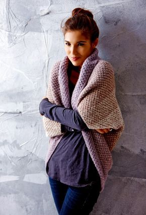 Photo of Soul warmer with gradient in pearl pattern – free instructions