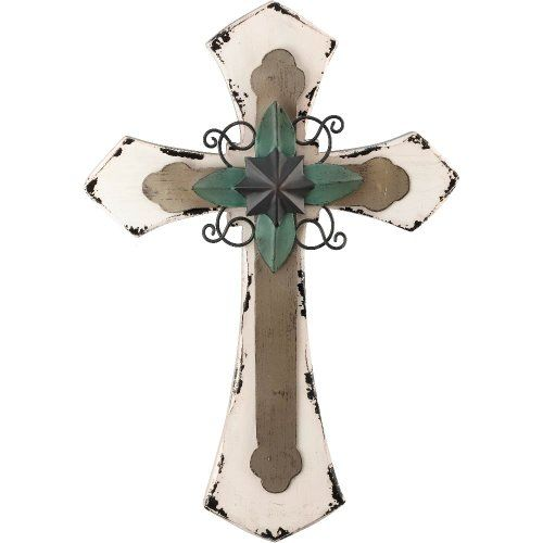 """Mesa Wall Cross 16"""" - White, Material; Wood/Metal Regal Arts and Gifts,http://www.amazon.com/dp/B00H4JEUCY/ref=cm_sw_r_pi_dp_EpU-sb03Y3D9F2JY"""