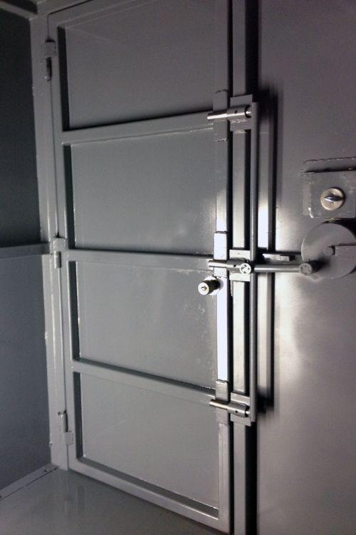 Wellsmade Interior Steel Safe Room with Door Latched. & Wellsmade Interior Steel Safe Room with Door Latched. | Arkansas ... pezcame.com