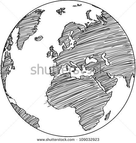 Movies Icos Buscar Con Google Doctors Globe Vector Earth Sketch Globe Drawing