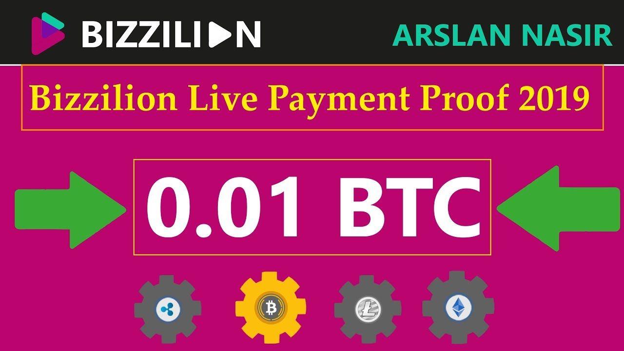 Bizzilion Earn Free Bitcoin Free Mining Site Earn Daily 0 005 -