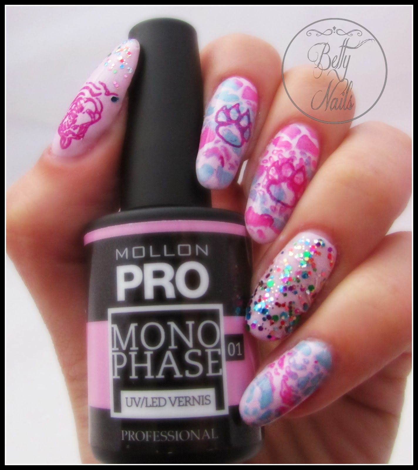 Betty Nails: Mollon Pro Monophase Gisele - Infinity Nails Stamping ...