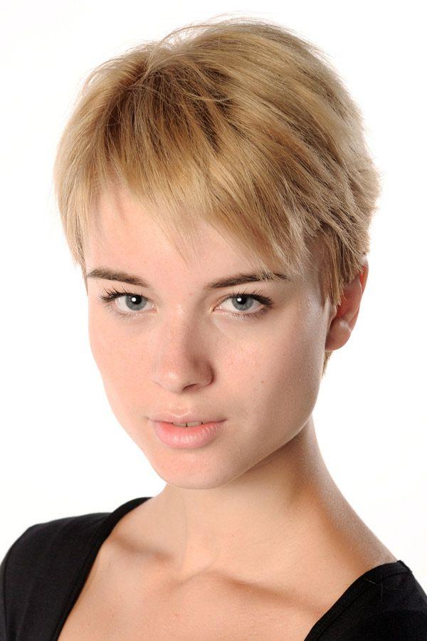 Kurzhaar Frisuren Blond Kurz Frisuren Pinterest Hair Cuts