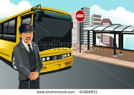 Bus Station Bus Driver