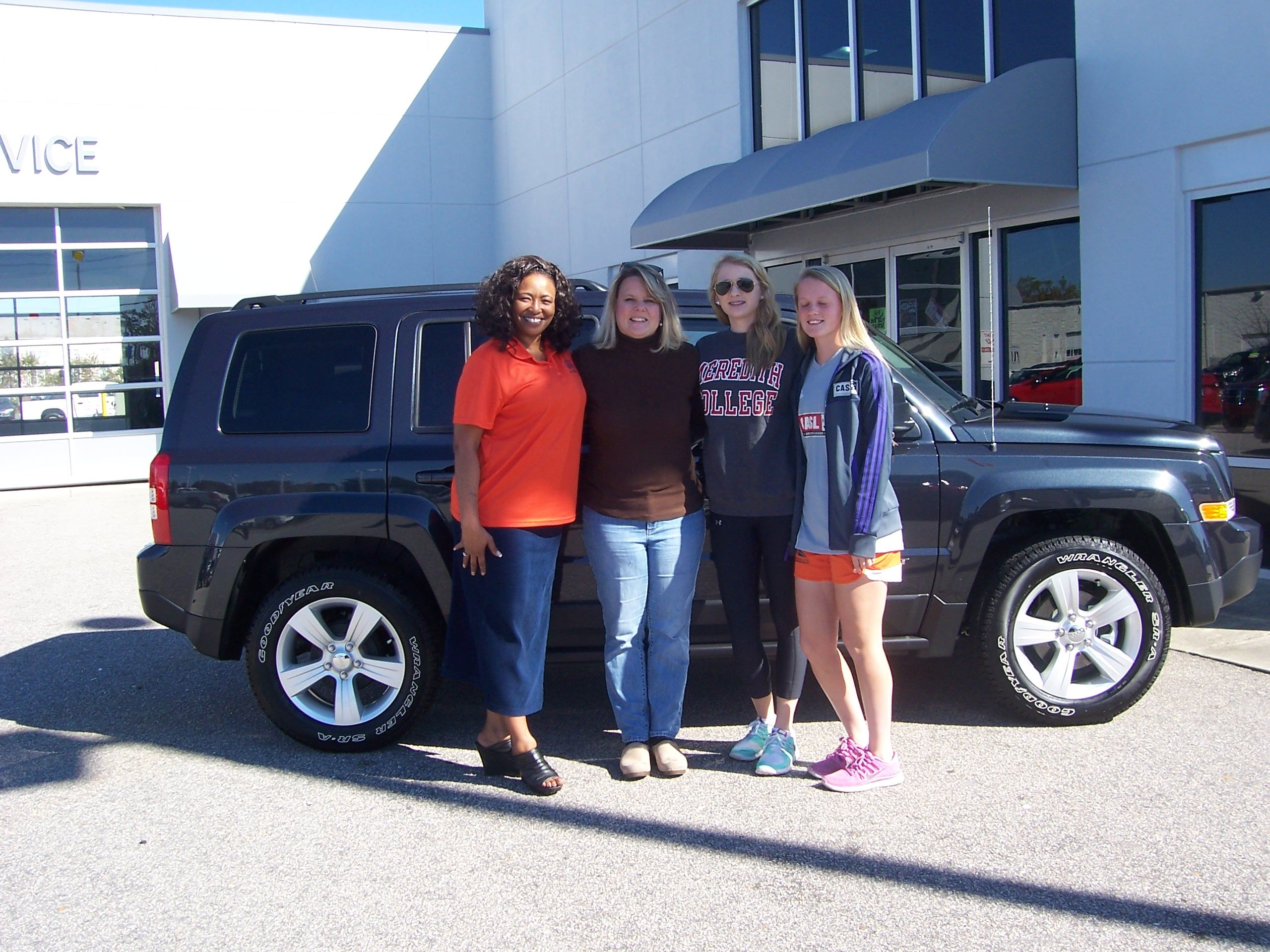 Carol And Her Family From Wilson Nc Are Ready To Hit The Open Road With Their Brand New 2014 Jeep Patriot Their Sales Pers 2014 Jeep Patriot Jeep Patriot Jeep