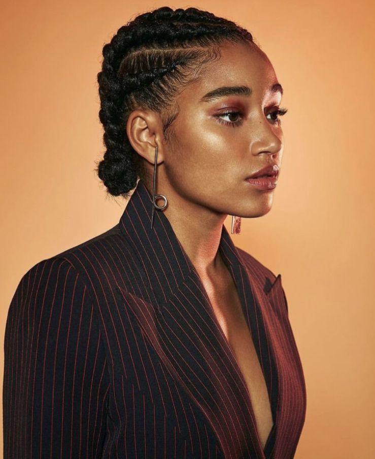 11 Protective Styles For Natural Hair To Try This Spring In 2021 Hair Styles Natural Hair Styles Cornrow Hairstyles