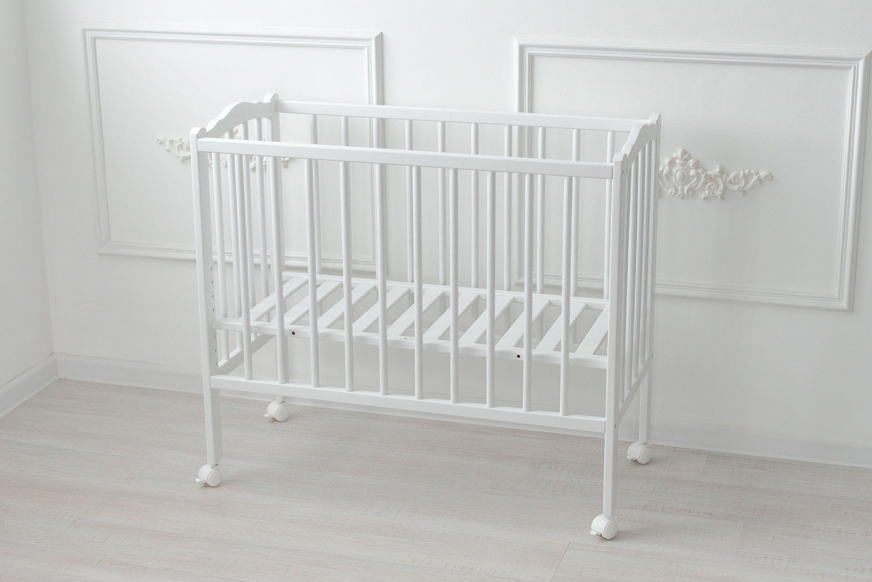 Baby Beistellbett 2in1 Plus Massivholz Buche Holzfarbe Weiss Furniture Home Decor Decor