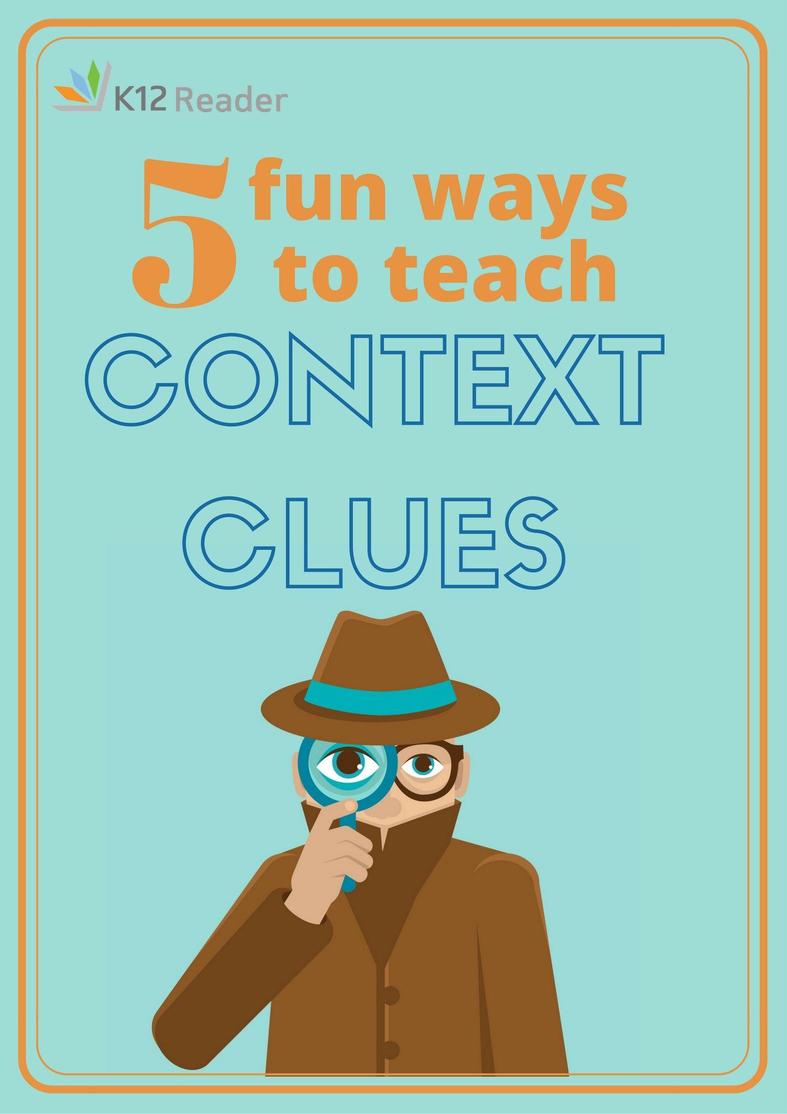 Five Fun Context Clues Games