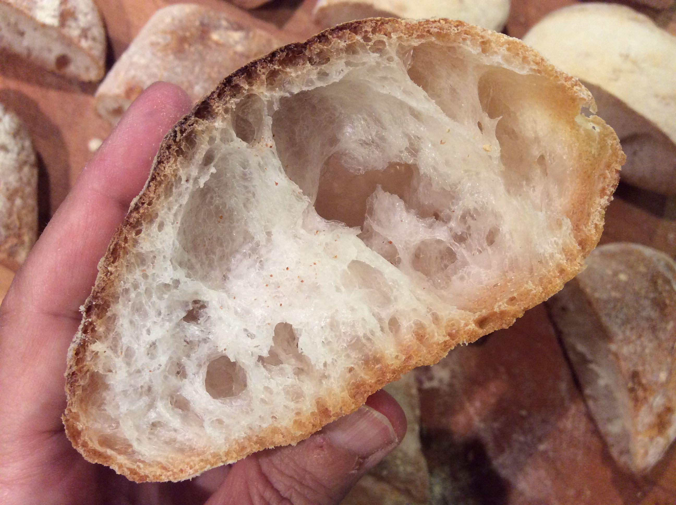 Credenza Per Pane : La ricetta pane ciabatta senza glutine con i segreti per ottenere un