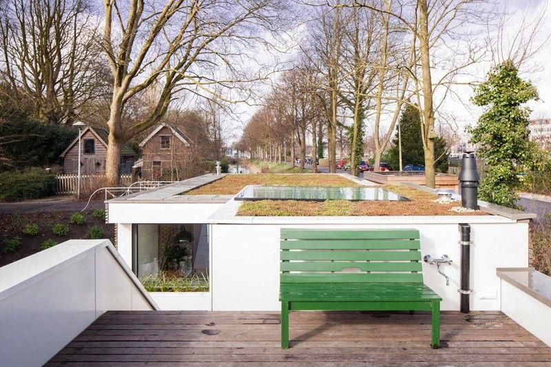 Wonen Op Woonboot : Bytr architects utrecht woonboot wonen op water wonen voor
