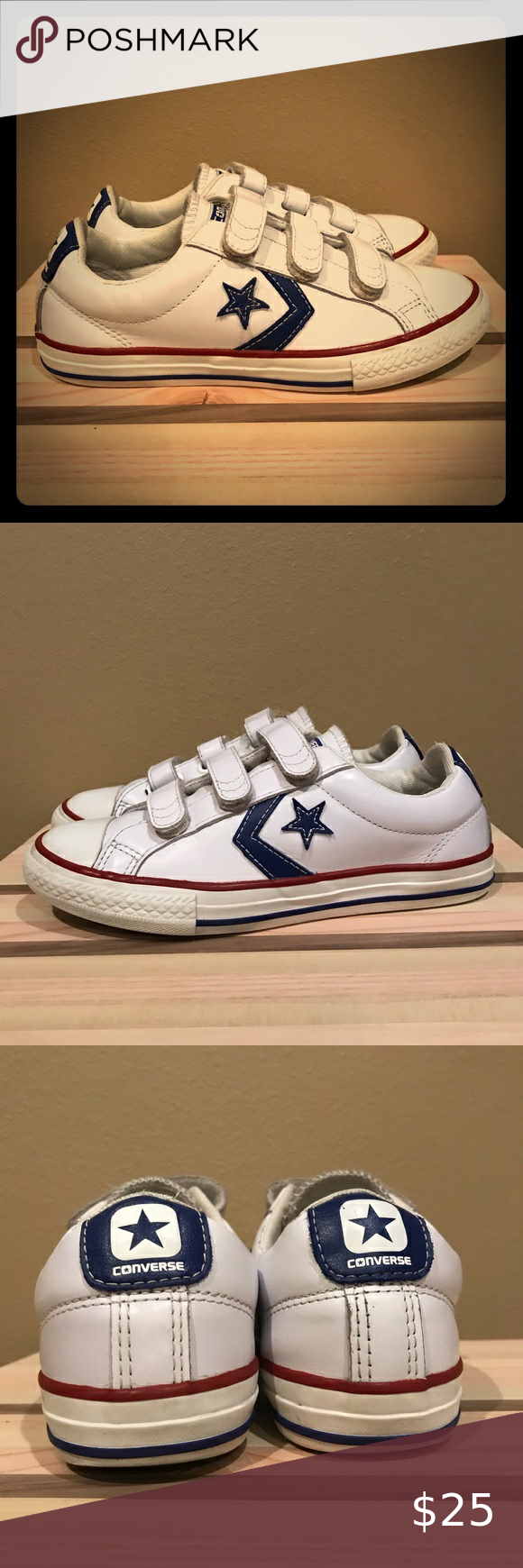 Converse CONS Velcro Sneakers White One