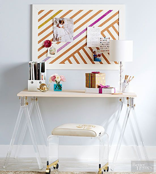 Give your bulletin board a touch of glam instructions httpwww board solutioingenieria Images